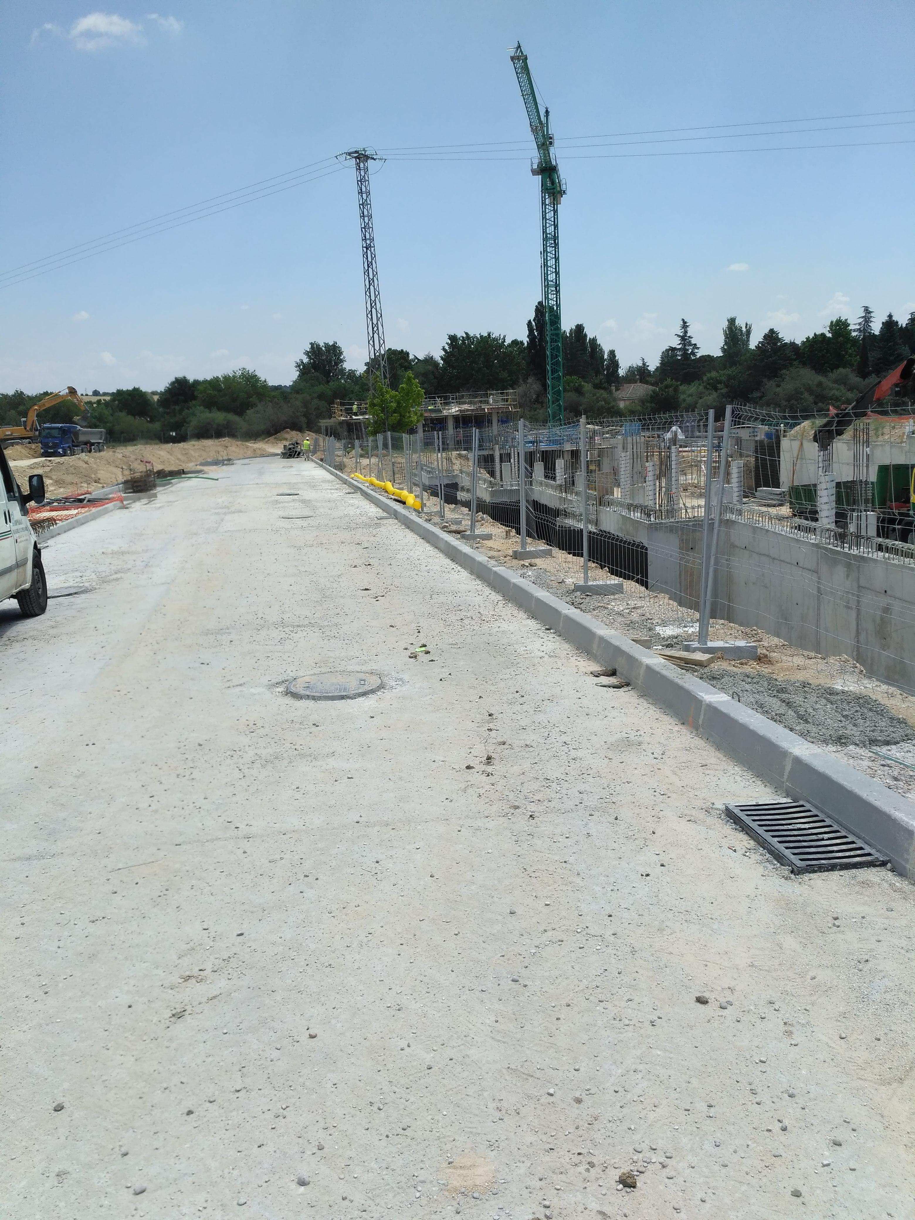 Urbanización de la calle Caballo