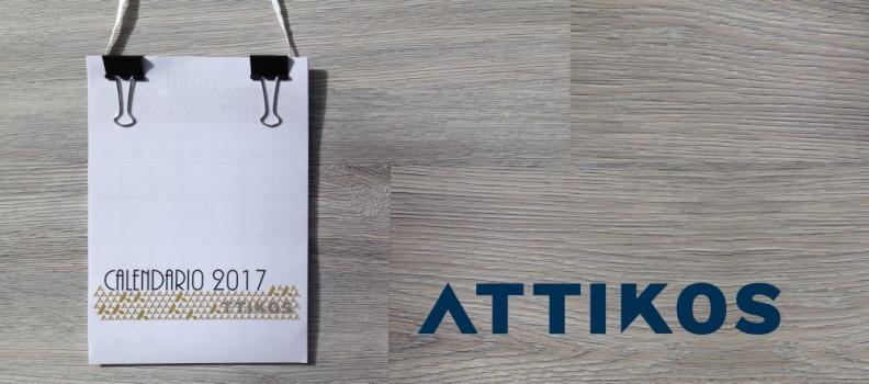Calendario 2017 Attikos