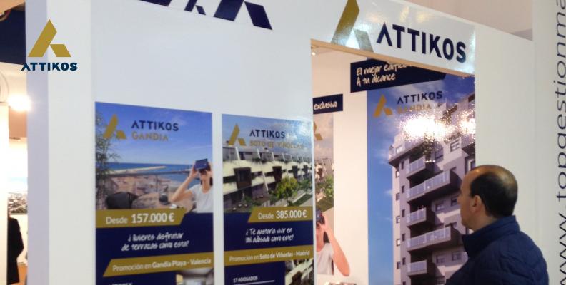 Salón Inmobiliario SIMA Otoño 2016; Attikos estuvo presente